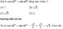 Bài 1 trang 71 SGK Hình học 10 nâng cao