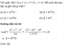 Bài 10 trang 72 SGK Hình học 10 nâng cao