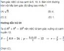 Bài 15 trang 73 SGK Hình học 10 nâng cao
