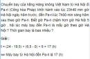 Bài 3 trang 10 SGK Vật lý lớp 10 Nâng cao
