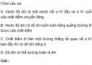 Bài 1 trang 16 SGK Vật lý 10 Nâng cao