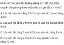 Bài 1 trang 24 SGK Vật Lý 10 Nâng Cao