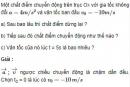 Bài 4 trang 24 SGK Vật Lý 10 Nâng Cao
