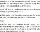 Bài 5 trang 24 SGK Vật Lý 10 Nâng Cao