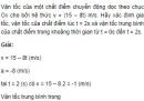 Bài 3 trang 28 SGK Vật lý 10 Nâng cao