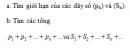 Câu 8 trang 135 SGK Đại số và Giải tích 11 Nâng cao