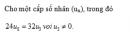 Câu 57 trang 177 SGK Đại số và Giải tích 11 Nâng cao