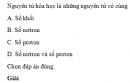 Bài 1 trang 11 SGK Hóa học 12 Nâng cao