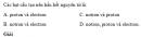 Bài 2 trang 8 SGK Hóa học 10 Nâng cao