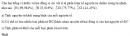 Bài 4 trang 14 SGK Hóa học 10 Nâng cao