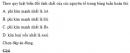 Bài 1 trang 57 SGK Hóa học 12 Nâng cao