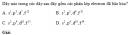 Bài 1 trang 34 SGK Hóa học 10 Nâng cao