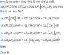Câu 2 trang 66 SGK Hóa học lớp 12 Nâng cao