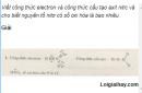 Câu 1 trang 55 SGK Hóa học 11 Nâng cao