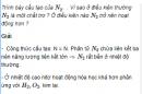 Câu 2 trang 40 SGK Hóa học 11 Nâng cao