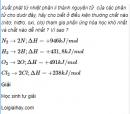Câu 3 trang 40 SGK Hóa học 11 Nâng cao