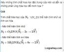 Câu 4 trang 40 SGK Hóa học 11 Nâng cao