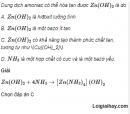 Câu 4 trang 47 SGK Hóa học 11 Nâng cao