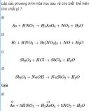 Câu 5 trang 36 SGK Hóa học 11 Nâng cao