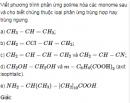 Bài 6 SGK trang 90 hóa học 12 nâng cao.