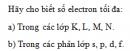 Bài 4 trang 34 SGK Hóa học 10 Nâng cao