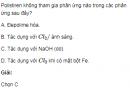Bài 2 SGK trang 103 hóa học 12 nâng cao.