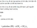 Bài 5 SGK trang 103 hóa học 12 nâng cao.