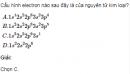 Bài 2 SGK trang 112 hoá học 12 nâng cao