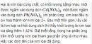 Bài 12 SGK trang 113 hóa học 12 nâng cao