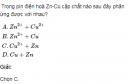 Bài  2 SGK  trang 122 hoá học 12 nâng cao