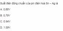 Bài 5 SGK  trang 122 hoá học 12 nâng cao