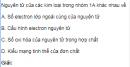 Bài 1 trang 152 SGK Hóa học lớp 12 nâng cao