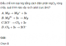 Câu 2 trang 161 SGK Hóa học lớp 12 nâng cao