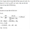 Bài 7 trang 161 SGK Hóa học lớp 12 nâng cao