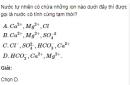 Bài 3 trang 167 SGK Hóa học lớp 12 nâng cao