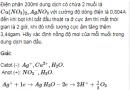 Bài 6  SGK trang 140 hoá học 12  nâng cao