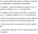 Bài 7 SGK trang 143 hoá học 12  nâng cao