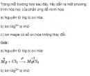 Bài 4 trang 170 SGK Hóa học lớp 12 nâng cao