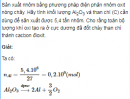 Bài 6 trang 176 SGK Hóa học lớp 12 nâng cao