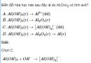 Bài 1 trang 183 SGK Hóa học lớp 12 nâng cao
