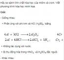 Bài 2 trang 190 SGK hóa học 12 nâng cao