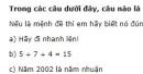 Câu 1 trang 9 SGK Đại số 10 nâng cao