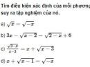 Bài 1 trang 71 SGK Đại số 10 nâng cao