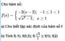 Bài 10 trang 46 SGK Đại số 10 nâng cao