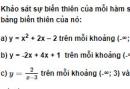 Bài 4 trang 45 SGK Đại số 10 nâng cao
