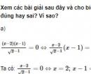 Bài 5 trang 78 SGK Đại số 10 nâng cao