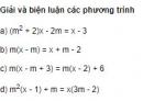 Bài 6 trang 78 SGK Đại số 10 nâng cao