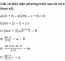 Bài 26 trang 85 SGK Đại số 10 nâng cao