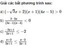 Bài 37 trang 127 SGK Đại số 10 nâng cao