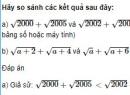 Câu 4 trang 109 SGK Đại số 10 nâng cao